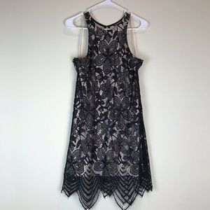 Express Halter Lace Dress